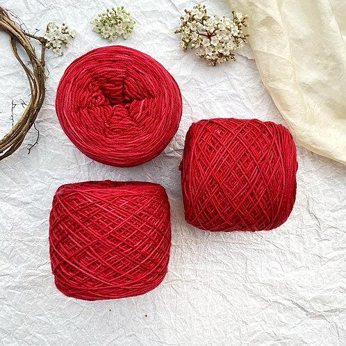Merino Sock Rojo Italiano