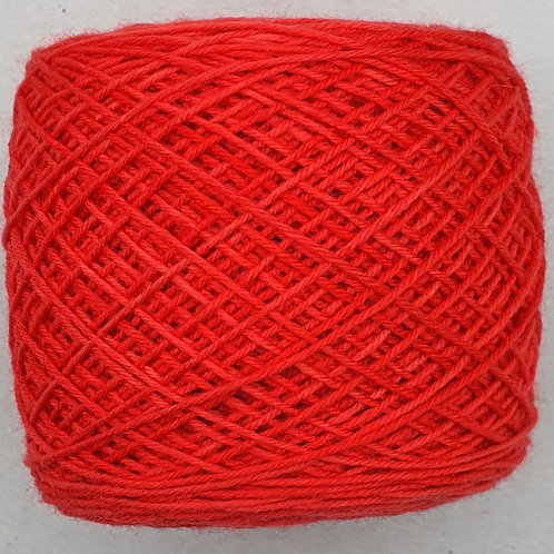 Merino Sock Rojo Brillante