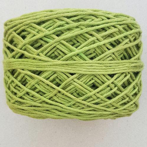 Algodón Grueso Verde Puro