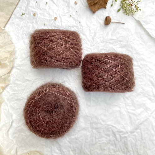 Superkid Mohair Chocolate intenso