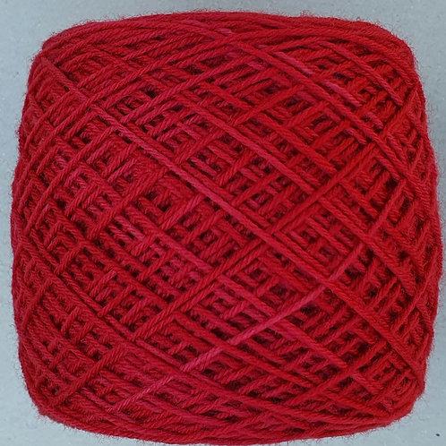 Mini Merino Sock Rojo Italiano