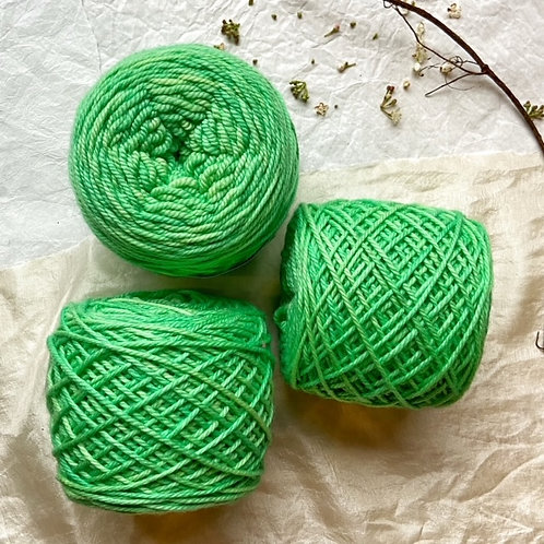 Merino Superwash W Verde Brillante