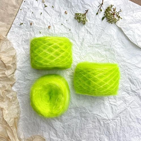 Superkid Mohair Verde Flúor
