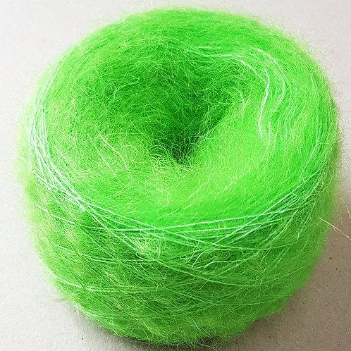 Mohair Verde Flúor