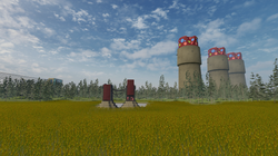 Towers in a Field