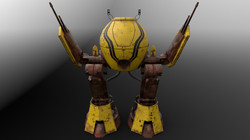 Rusty Robot Front