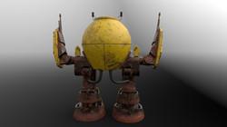 Rusty Robot Back