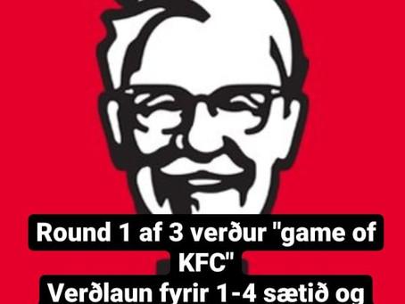 GAME OF SKATE VERÐUR GAME OF KFC