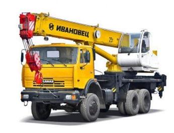 Avtokran-ivanovets-25-tonn-model-45717K-