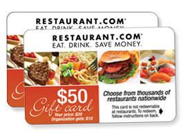 Restaurant.com  Fundraiser