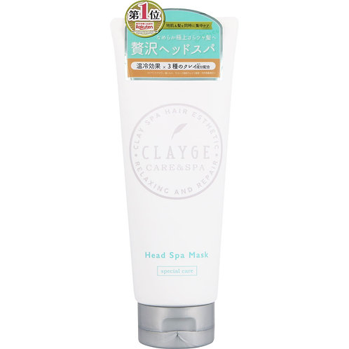 CLAYGE  Clay Deep Head Damage Care Oil Spa Mask Refreshing 200g