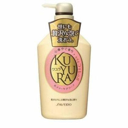 SHISEIDO Kuyura Body Care Soap Revitalizing Floral 550ml