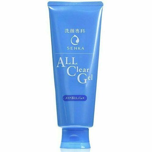 SHISEIDO SENKA All Clear GEL Makeup Remover 160g