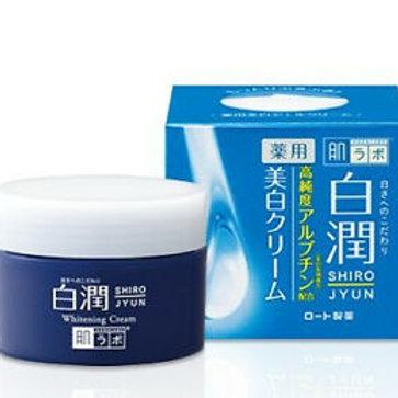Rohto Mentholatum - Hada Labo Arbutin Whitening Shirojyun Cream 50g
