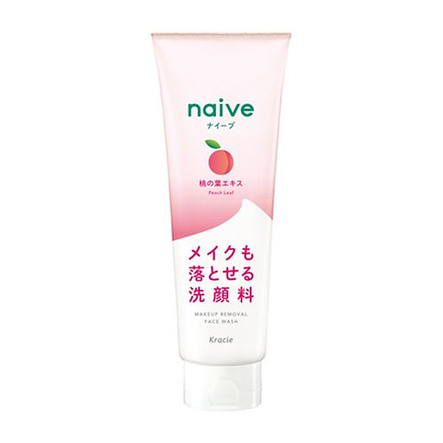 Kracie Naive Makeup Cleansing Foam Peach 200g