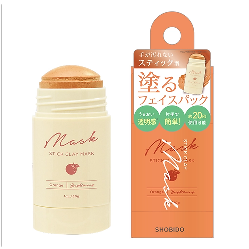 SHOBIDO Stick Clay Mask #Orange