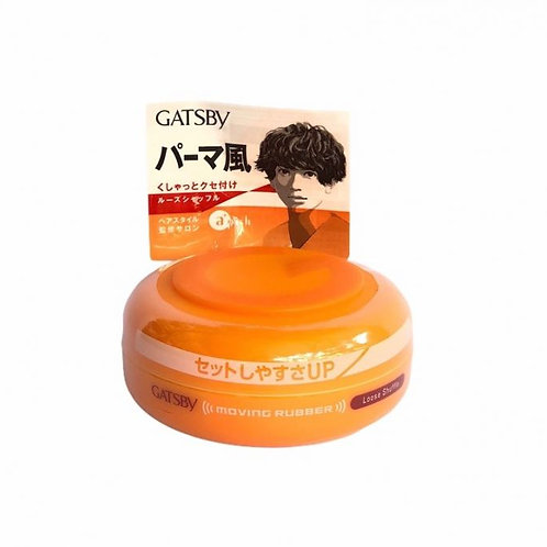 GATSBY Hair Wax Moving Rubber Loose Shuffle