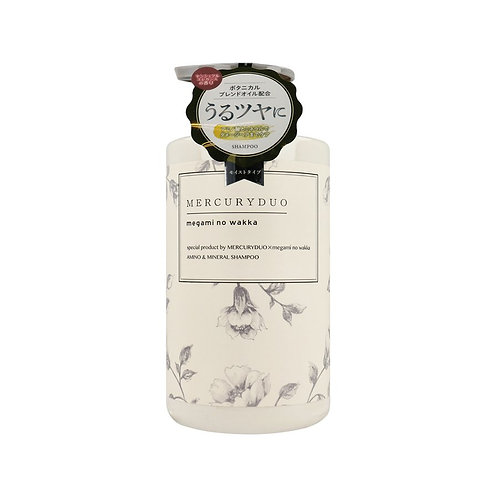 MERCURYDUO By Megami No Wakka Amino & Mineral Shampoo 480ml