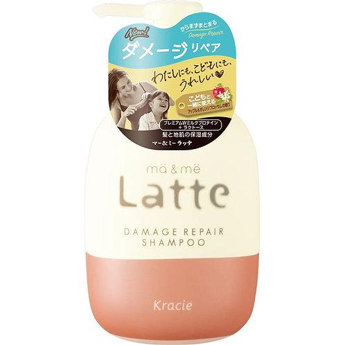 Kracie Ma & Me Latte Damage Repair Shampoo 490 ml