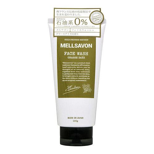 Mellsavon Face Wash Grasse Days Fragrance Refreshing Type 130g