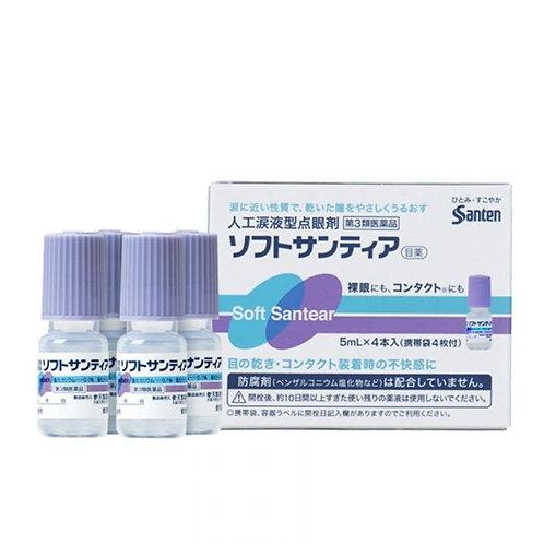 SANTEN Soft Santear For Dry Eye (5ml x 4 pcs)
