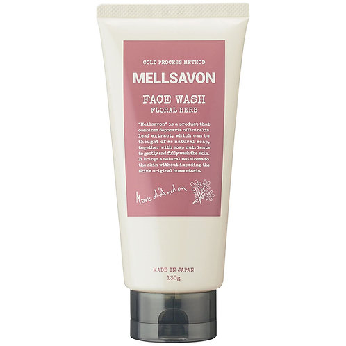 Mellsavon Face Wash Floral Herbs 130g
