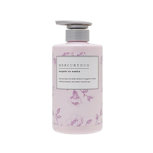 MERCURYDUO By Megami No Wakka Amino & Mineral Shampoo 480ml #Smooth Type