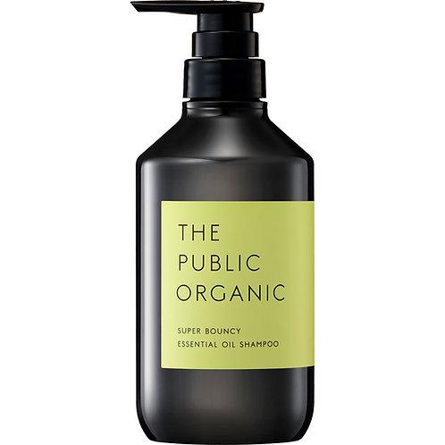 THE PUBLIC ORAGNIC SUPER Bouncy Deep Moist Shampoo 480ml