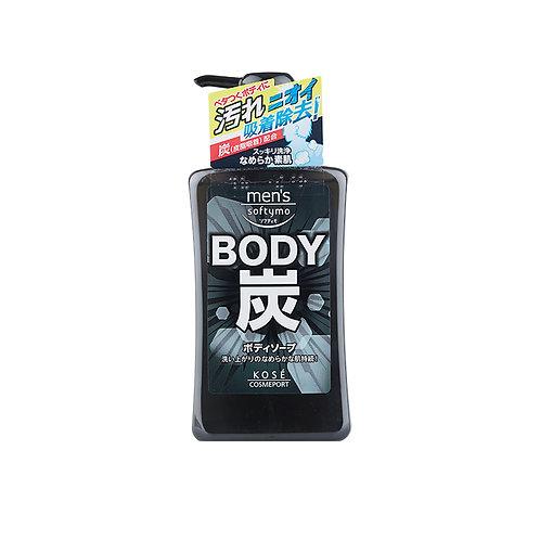 Kose Mens Softymo Charcoal Body Soap
