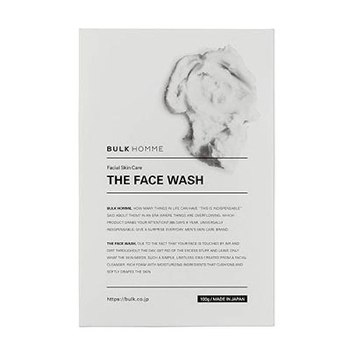 BULK HOMME THE FACE WASH 100g Cleansing Foam for Men