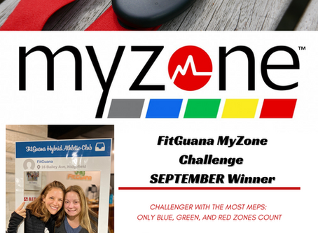 MyZone Challenges Update!