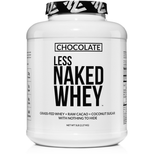 Chocolate Less Naked Whey Protein 5lbs