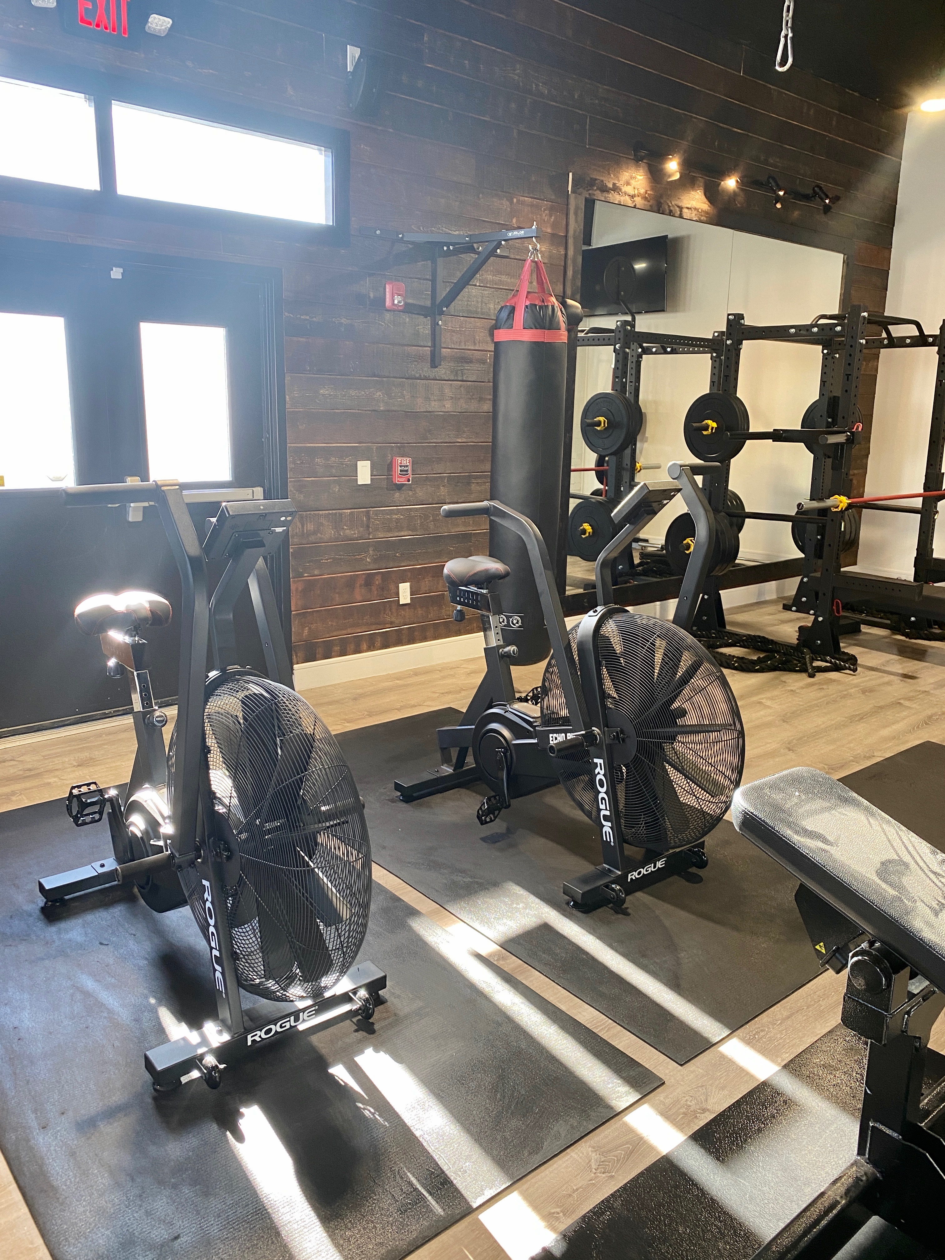 Air Bikes for Interval Based Cardio