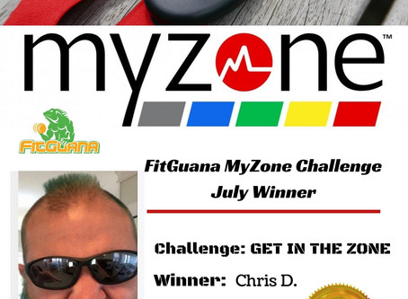 Congratulations to our July MyZone Winner!