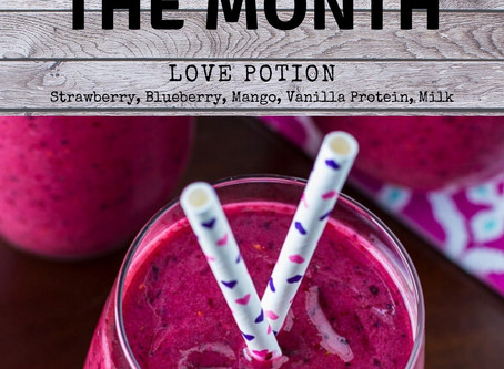 February Smoothie of the Month!