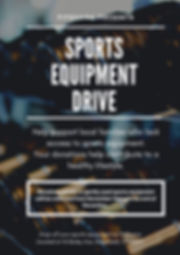 Sports Equipment Drive  FitGuana Ridgefi