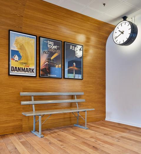 Indretning Danmarks Jernbanemuseum