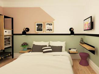 מלון דיזינגוף סי רזידנס תל אביב // עיצוב ושיפוץ החדרים // 2019