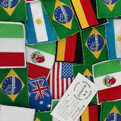 Tag Bandeira para Blazer Intercâmbio Rotary
