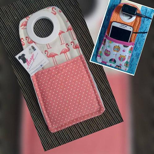 Porta celular portátil de tomada Flamingos