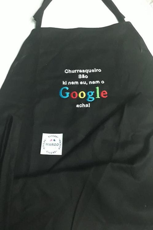 Avental masculino Google