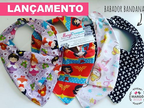 Babador Bandana Estampas Variadas