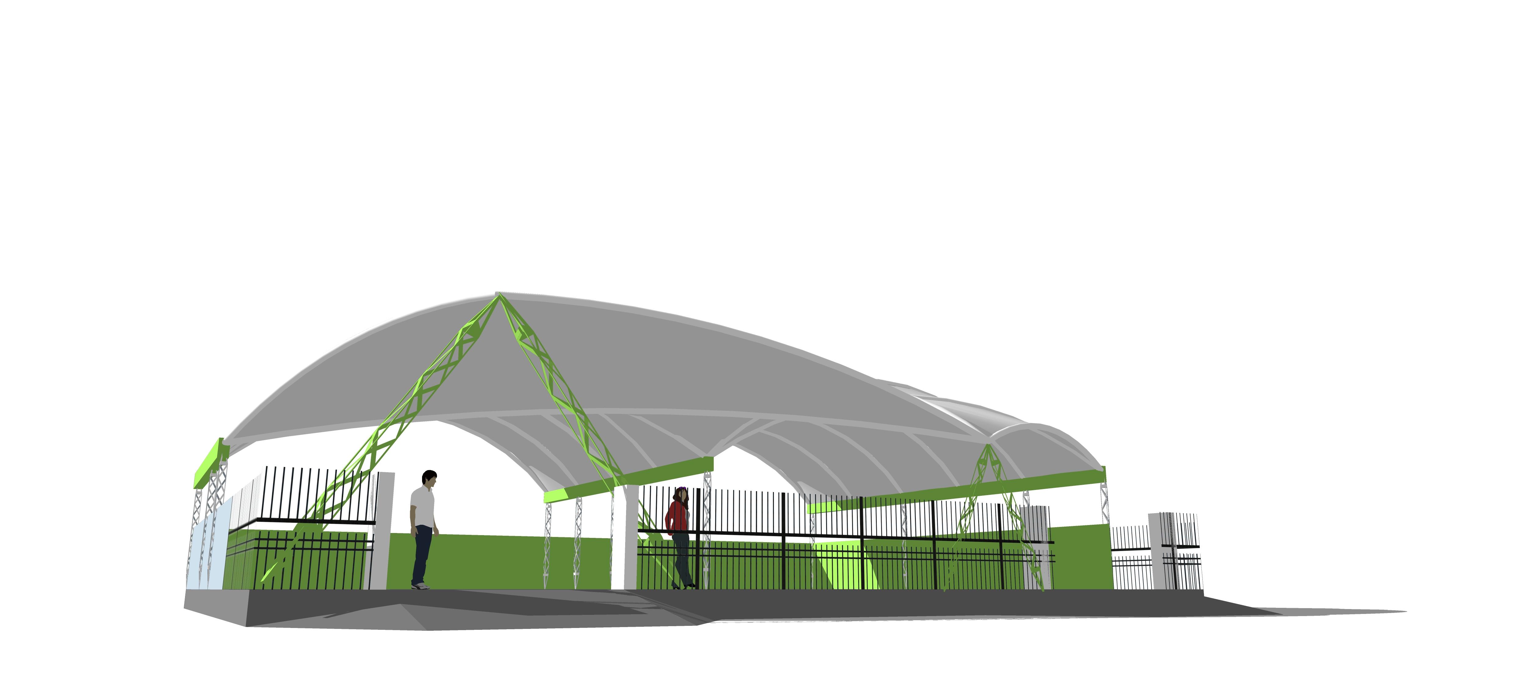 tensile roofing 2