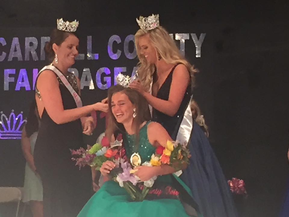 Miss Teen Carroll Co 2017 Crowning