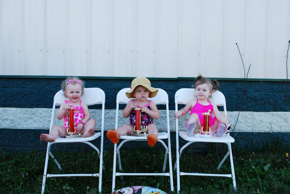 Some cute baby pageant winners!