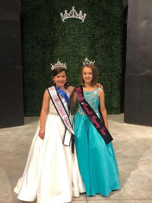 Miss Pre-Teen Carroll County Entry