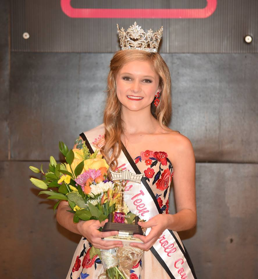 Miss Teen Carroll County 2015