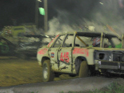 Scenes of the Demo Derby