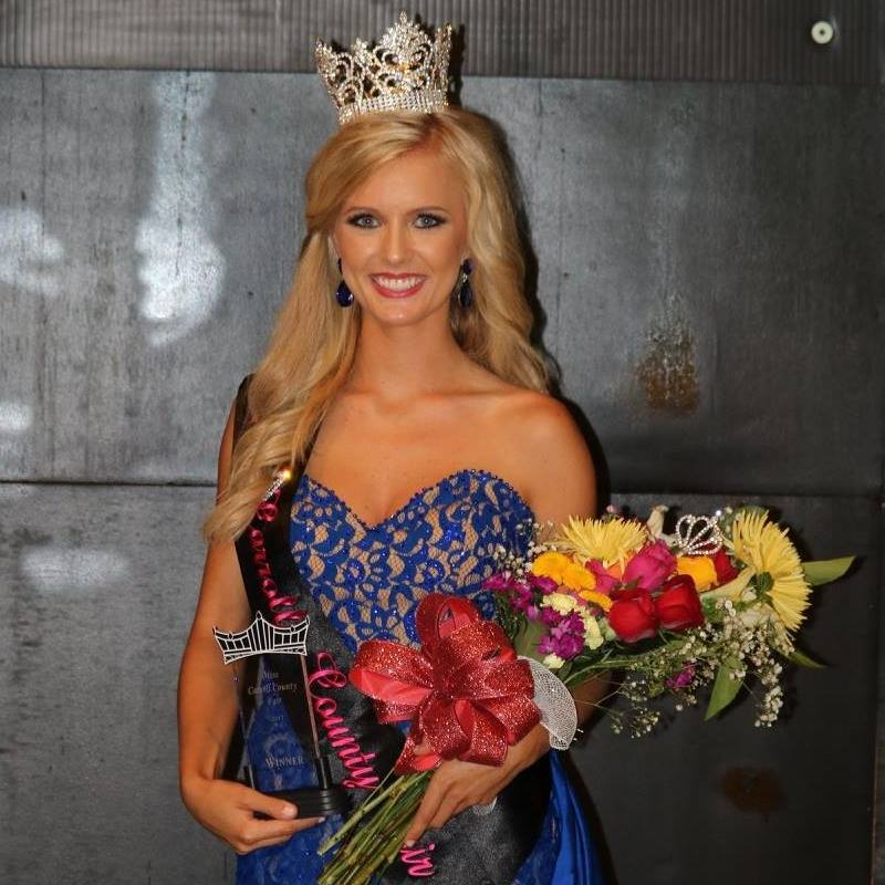 Miss Carroll County 2017: Adrienne P
