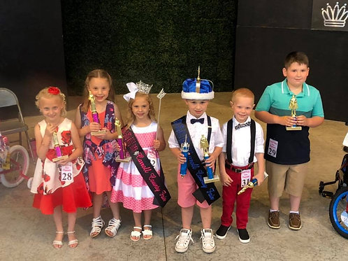 Little Miss/Mister Carroll County Individual Entry